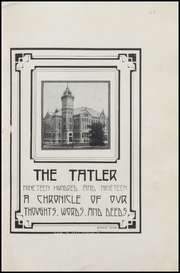 Page 7, 1919 Edition, Des Moines Technical High School - Engineer Yearbook (Des Moines, IA) online yearbook collection