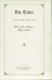 Page 3, 1928 Edition, Des Moines Technical High School - Engineer Yearbook (Des Moines, IA) online yearbook collection