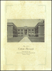 Page 5, 1933 Edition, Temple High School - Cotton Blossom Yearbook (Temple, TX) online yearbook collection