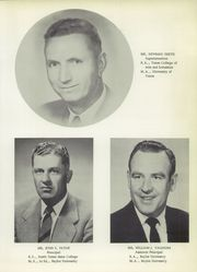 Page 11, 1958 Edition, Temple High School - Cotton Blossom Yearbook (Temple, TX) online yearbook collection