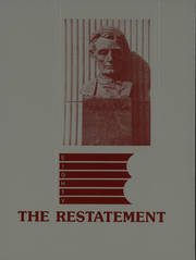 1988 Edition, Temple University School of Law - Restatement Yearbook (Philadelphia, PA)