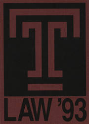 1993 Edition, Temple University School of Law - Restatement Yearbook (Philadelphia, PA)