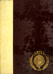 Fordham University School of Business - Aries Yearbook (New York, NY) online yearbook collection, 1957 Edition, Page 1