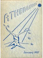 Barringer High School - Athenaeum Yearbook (Newark, NJ) online yearbook collection, 1957 Edition, Page 1