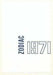 Telstar Regional High School - Zodiac Yearbook (Bethel, ME) online yearbook collection, 1971 Edition, Page 1