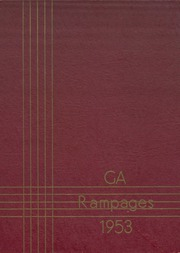 Galesburg Augusta High School - Rambler Yearbook (Galesburg, MI) online yearbook collection, 1953 Edition, Page 1