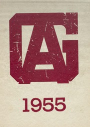Galesburg Augusta High School - Rambler Yearbook (Galesburg, MI) online yearbook collection, 1955 Edition, Page 1