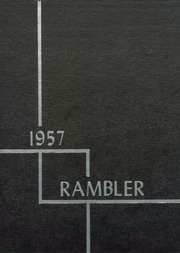 Galesburg Augusta High School - Rambler Yearbook (Galesburg, MI) online yearbook collection, 1957 Edition, Page 1