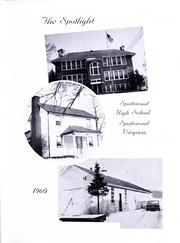 Page 5, 1960 Edition, Spottswood High School - Spotlight Yearbook (Spottswood, VA) online yearbook collection