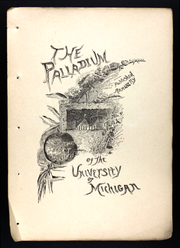 Page 13, 1886 Edition, University of Michigan - Michiganensian Yearbook (Ann Arbor, MI) online yearbook collection