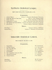 Page 117, 1899 Edition, University of Michigan - Michiganensian Yearbook (Ann Arbor, MI) online yearbook collection