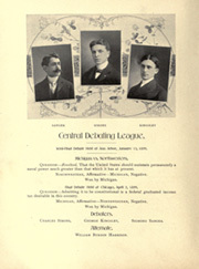 Page 118, 1899 Edition, University of Michigan - Michiganensian Yearbook (Ann Arbor, MI) online yearbook collection