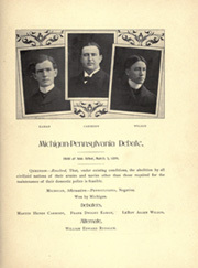 Page 119, 1899 Edition, University of Michigan - Michiganensian Yearbook (Ann Arbor, MI) online yearbook collection