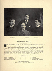 Page 123, 1899 Edition, University of Michigan - Michiganensian Yearbook (Ann Arbor, MI) online yearbook collection
