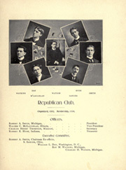 Page 135, 1899 Edition, University of Michigan - Michiganensian Yearbook (Ann Arbor, MI) online yearbook collection