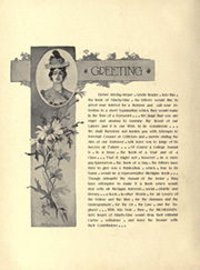 Page 20, 1899 Edition, University of Michigan - Michiganensian Yearbook (Ann Arbor, MI) online yearbook collection