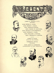 Page 24, 1899 Edition, University of Michigan - Michiganensian Yearbook (Ann Arbor, MI) online yearbook collection
