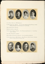 Page 18, 1905 Edition, University of Michigan - Michiganensian Yearbook (Ann Arbor, MI) online yearbook collection
