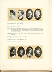 Page 19, 1905 Edition, University of Michigan - Michiganensian Yearbook (Ann Arbor, MI) online yearbook collection