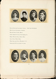 Page 22, 1905 Edition, University of Michigan - Michiganensian Yearbook (Ann Arbor, MI) online yearbook collection