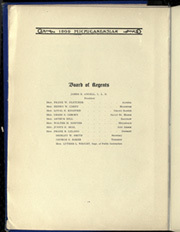Page 14, 1909 Edition, University of Michigan - Michiganensian Yearbook (Ann Arbor, MI) online yearbook collection