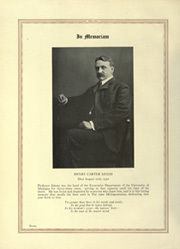 Page 26, 1922 Edition, University of Michigan - Michiganensian Yearbook (Ann Arbor, MI) online yearbook collection