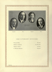 Page 28, 1922 Edition, University of Michigan - Michiganensian Yearbook (Ann Arbor, MI) online yearbook collection
