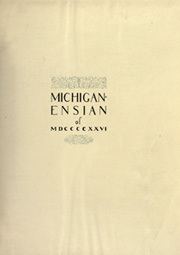 Page 5, 1926 Edition, University of Michigan - Michiganensian Yearbook (Ann Arbor, MI) online yearbook collection