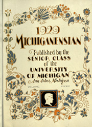 Page 9, 1929 Edition, University of Michigan - Michiganensian Yearbook (Ann Arbor, MI) online yearbook collection
