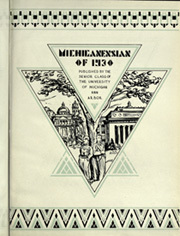 Page 7, 1930 Edition, University of Michigan - Michiganensian Yearbook (Ann Arbor, MI) online yearbook collection