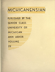 Page 9, 1935 Edition, University of Michigan - Michiganensian Yearbook (Ann Arbor, MI) online yearbook collection