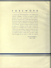 Page 12, 1936 Edition, University of Michigan - Michiganensian Yearbook (Ann Arbor, MI) online yearbook collection
