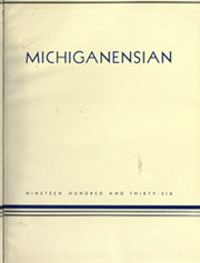 Page 7, 1936 Edition, University of Michigan - Michiganensian Yearbook (Ann Arbor, MI) online yearbook collection