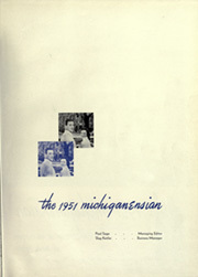 Page 5, 1951 Edition, University of Michigan - Michiganensian Yearbook (Ann Arbor, MI) online yearbook collection