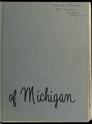Page 3, 1952 Edition, University of Michigan - Michiganensian Yearbook (Ann Arbor, MI) online yearbook collection