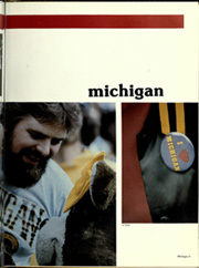 Page 9, 1983 Edition, University of Michigan - Michiganensian Yearbook (Ann Arbor, MI) online yearbook collection