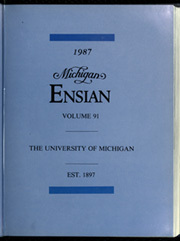 Page 7, 1987 Edition, University of Michigan - Michiganensian Yearbook (Ann Arbor, MI) online yearbook collection