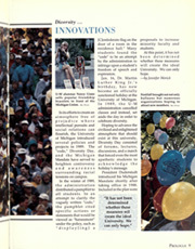 Page 13, 1990 Edition, University of Michigan - Michiganensian Yearbook (Ann Arbor, MI) online yearbook collection