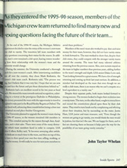 Page 253, 1996 Edition, University of Michigan - Michiganensian Yearbook (Ann Arbor, MI) online yearbook collection