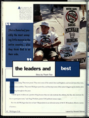 Page 46, 1996 Edition, University of Michigan - Michiganensian Yearbook (Ann Arbor, MI) online yearbook collection