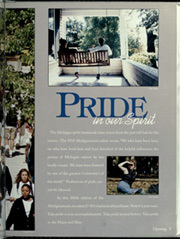 Page 9, 1996 Edition, University of Michigan - Michiganensian Yearbook (Ann Arbor, MI) online yearbook collection