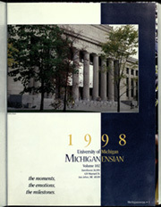 Page 5, 1998 Edition, University of Michigan - Michiganensian Yearbook (Ann Arbor, MI) online yearbook collection