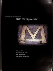 Page 7, 2000 Edition, University of Michigan - Michiganensian Yearbook (Ann Arbor, MI) online yearbook collection