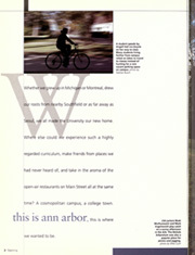Page 6, 2001 Edition, University of Michigan - Michiganensian Yearbook (Ann Arbor, MI) online yearbook collection