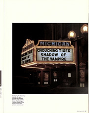 Page 61, 2001 Edition, University of Michigan - Michiganensian Yearbook (Ann Arbor, MI) online yearbook collection