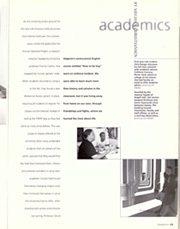 Page 69, 2001 Edition, University of Michigan - Michiganensian Yearbook (Ann Arbor, MI) online yearbook collection