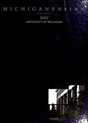 University of Michigan - Michiganensian Yearbook (Ann Arbor, MI) online yearbook collection, 2002 Edition, Page 1