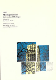 Page 5, 2002 Edition, University of Michigan - Michiganensian Yearbook (Ann Arbor, MI) online yearbook collection