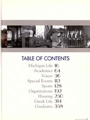 Page 19, 2003 Edition, University of Michigan - Michiganensian Yearbook (Ann Arbor, MI) online yearbook collection