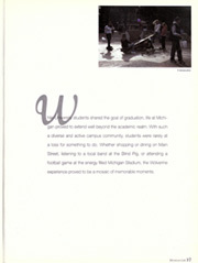 Page 21, 2003 Edition, University of Michigan - Michiganensian Yearbook (Ann Arbor, MI) online yearbook collection